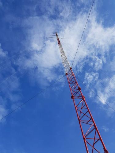 MET stolp 100m PVE Zajčica Senožeška Brda