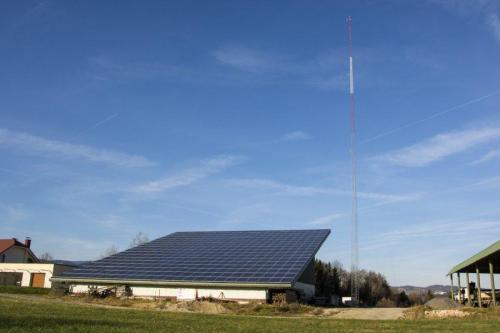 Met stolp 90m Cigonca +100kW sončna elektrarna